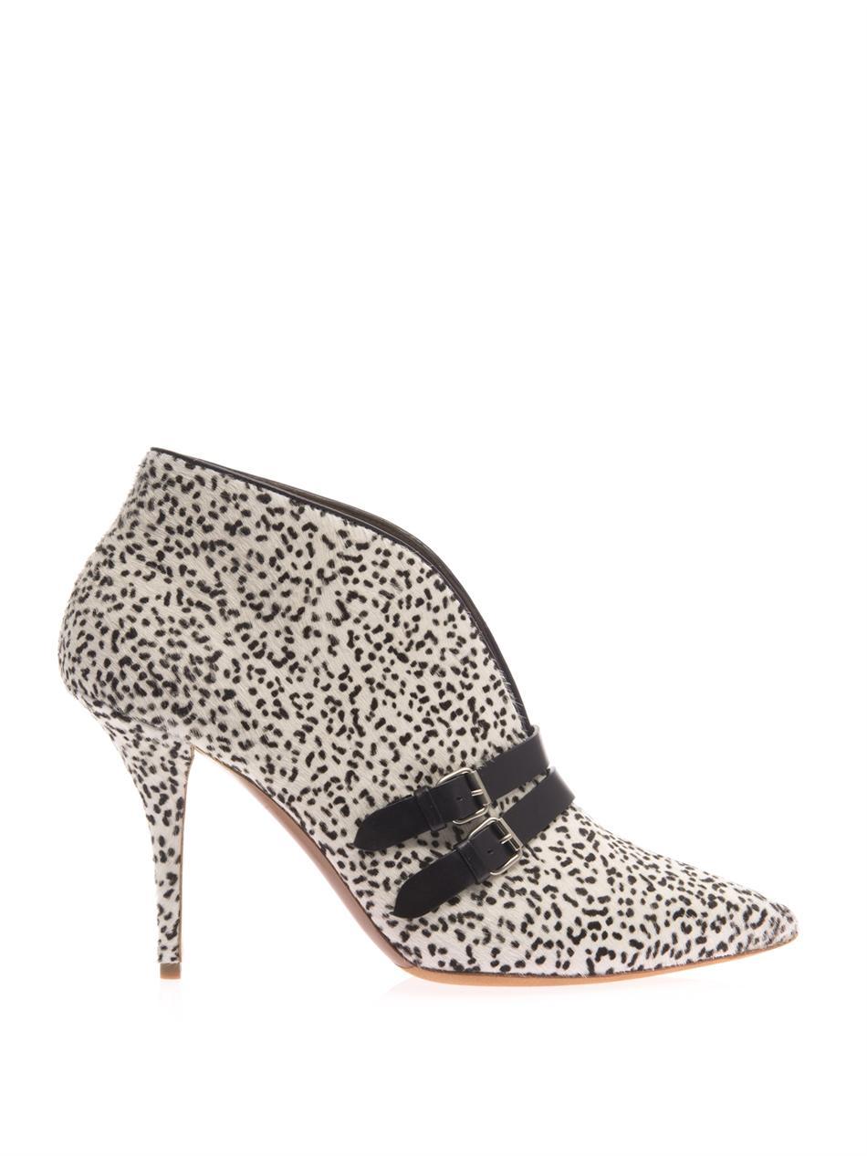 Phoenix calf-hair ankle boots | Tabitha Simmons | MATCHESFASHI...