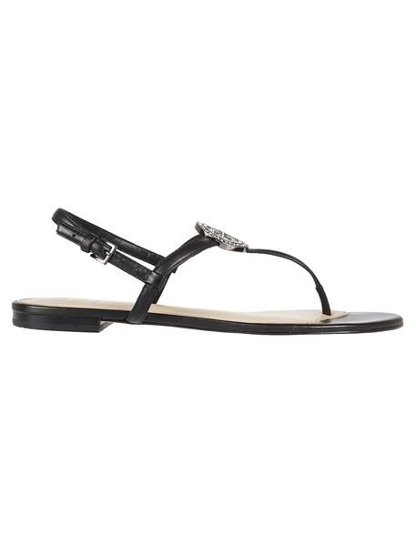 Tory Burch sandals flat sandals black shoes