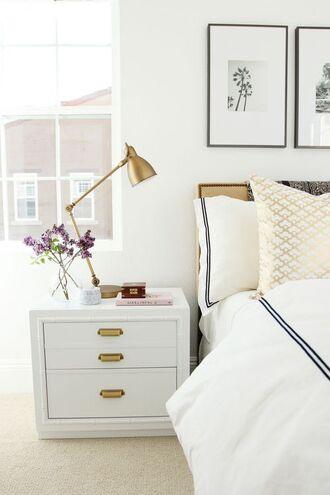home accessory home decor lamp gold metallic lamp