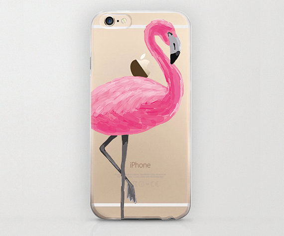 check out 48103 40702 Flamingo iPhone 6 Case Pink and Clear iPhone 6 Plus Cell Phone Covers Bird  Tropical Design Flamingo iPhone 6s Cover Flamingo iPhone 6s Plus