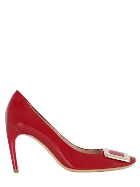 Roger Vivier pumps leather red shoes