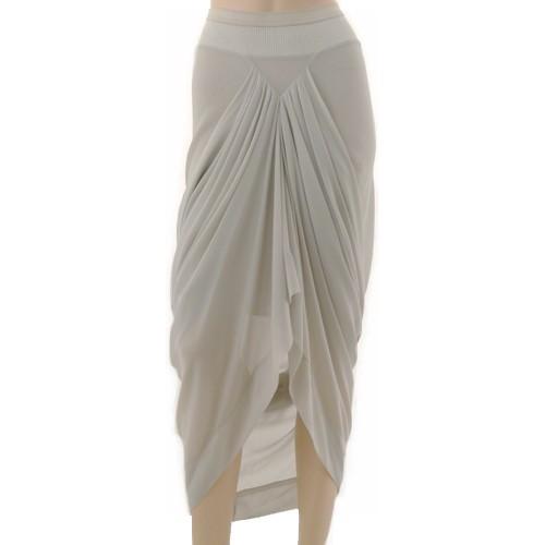 Marilicious  i  shop rick owens  i  drapped silk skirt