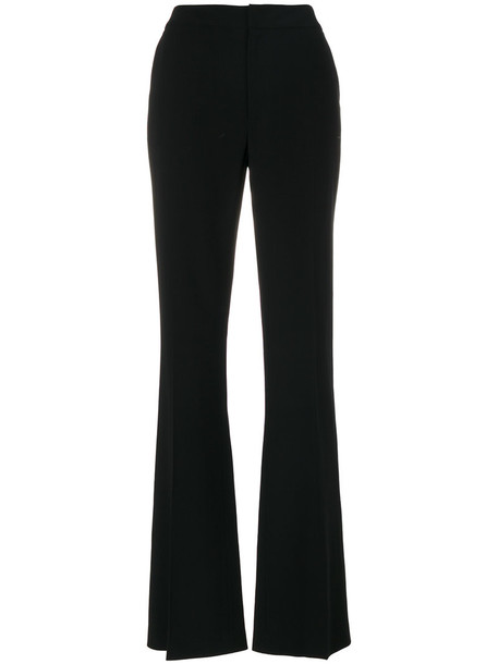 Just Cavalli - mid-rise flared trousers - women - Spandex/Elastane/Acetate/Viscose - 40, Black, Spandex/Elastane/Acetate/Viscose