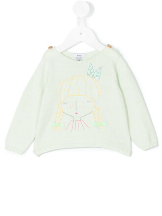 sweater cotton green