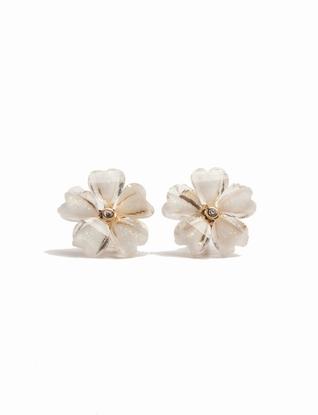 Glimmer Flower Stud Earrings | Women's Earrings | THE LIMITED