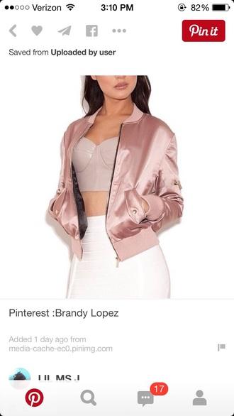 jacket satin silk blazer soft grunge pale baddies skirt top