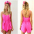 Summer Sexy Backless Playsuit Women · favor · Online Store Powered by Storenvy