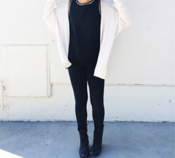 cardigan white cardigan