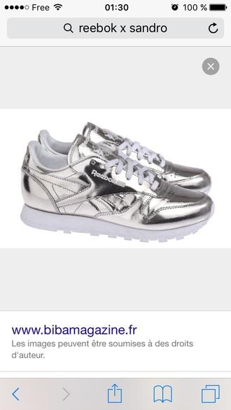 shoes reebok sandro holographic holographic shoes