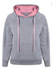 sweater,grey,pink,casual,fashion,style,trendy,long sleeves,cool,trendsgal.com