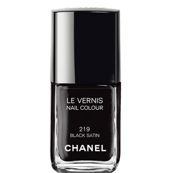 LE VERNIS NAIL COLOUR (219 BLACK SATIN) - LE VERNIS - Chanel Makeup