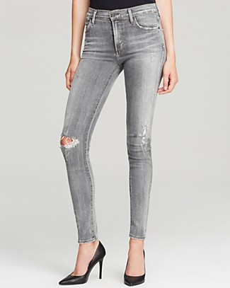 Citizens of Humanity Jeans - Rocket High Rise Skinny in London Calling | Bloomingdale's