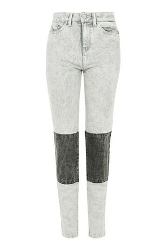 jeans mom jeans high grey