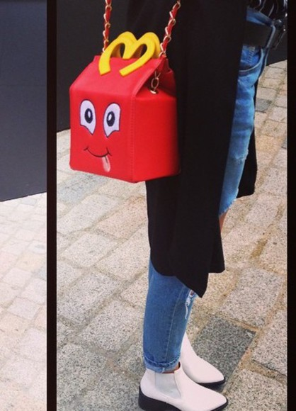 girly fashion lovely pepa bag find red dress