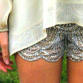 shorts,sparkly lacie shorts,sequins