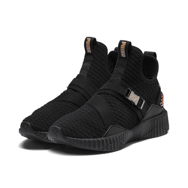 PUMA x SG Defy Mid Women's Sneakers | Puma Black-Rose Gold | PUMA Shoes | PUMA United States