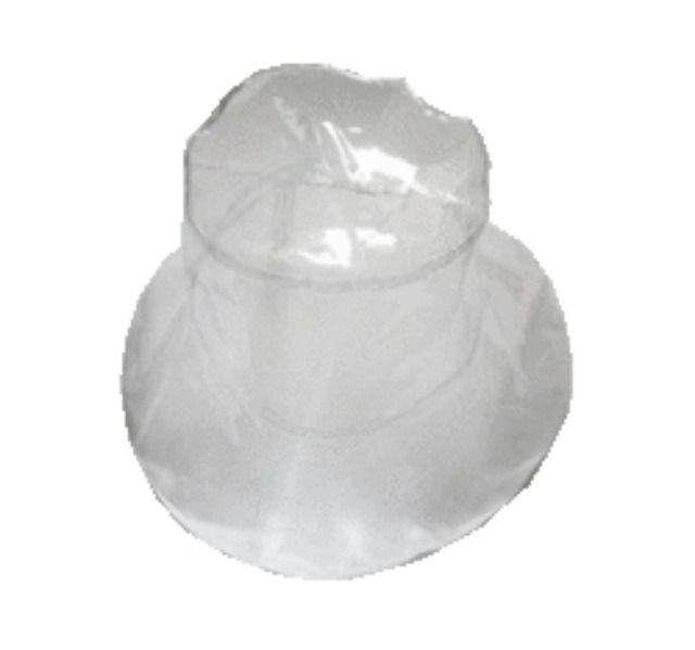 04ab08e1ba311 Unisex Clear PVC Bucket HAT 90 039 S Club KID Raver Hippie Festival ...