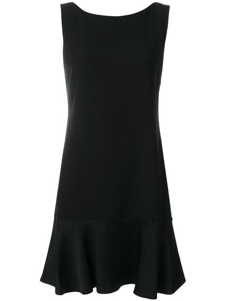theory dress shift dress women classic spandex black