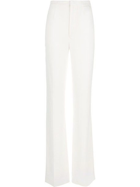 Dsquared2 high women spandex white pants
