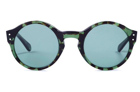 Oliver goldsmith casper c.mint chocolate chip sunglasses sunglasses, oliver goldsmith sunglasses,  designer sunglasses at boston magazine best of boston eyeglasses