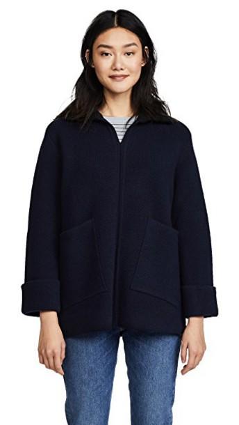 A.P.C. sweater dark navy