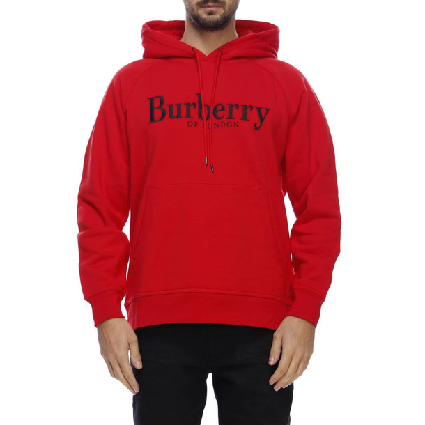 Burberry Sweater Sweater Men Burberry in red