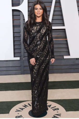 dress selena gomez style oscars 2015 stylish passions for fashion