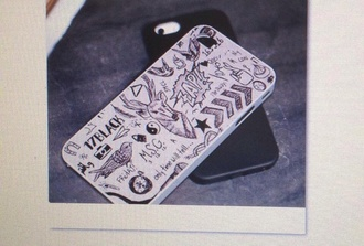 phone cover one direction tattoo