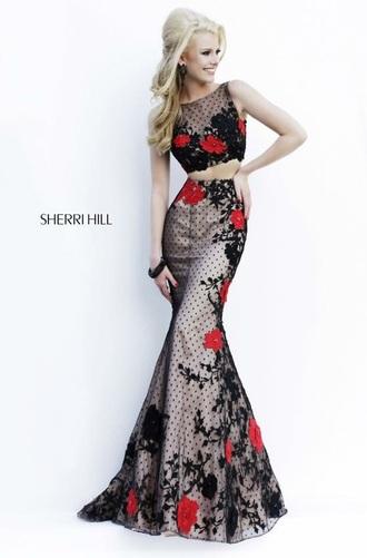 dress sherri hill two-piece