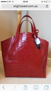 bag,furla jucca red