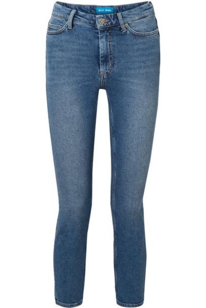 M.i.h Jeans jeans skinny jeans denim cropped high