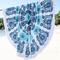 Round beach towel|disheefashion