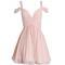 Hot selling off shoulder chiffon simple elegant freshman homecoming prom dress,bd00147