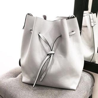bag white bag classy white