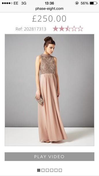 dress prom #dress #promdress  #blush