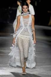 pants,runway,missoni,fashion week,model,kardashians,kendall jenner,top,vest