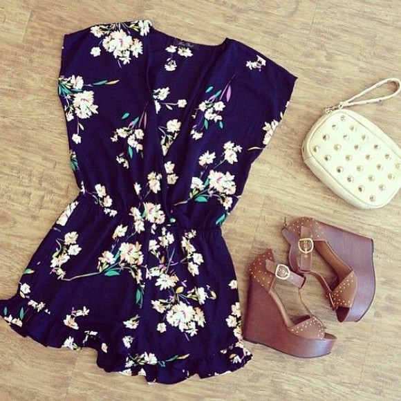 romper playsuit shoes