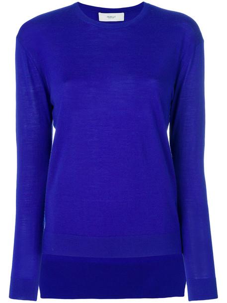 sweater women classic blue