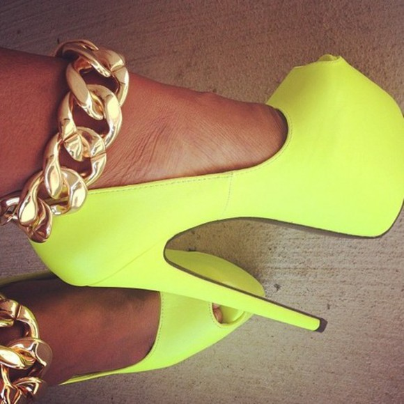 shoes yellow yellow shoes tumblr jewels