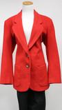 Red innovation sport blazer (size