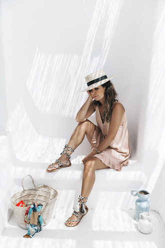 lauren conrad blogger hat romper shorts top jewels blouse shoes dress sunglasses bag tank top