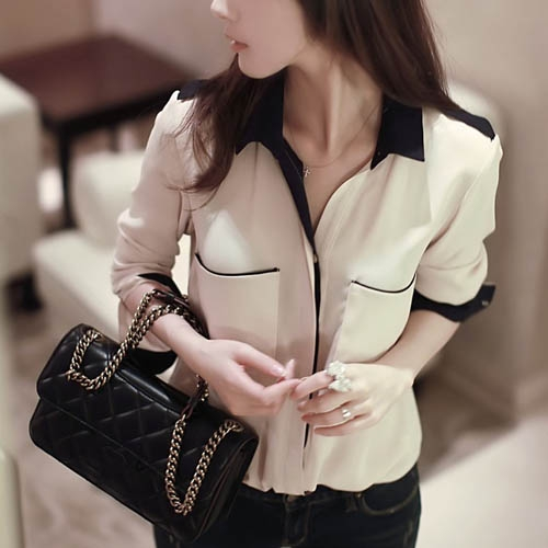 Formal to Casual Chiffon Neat Blouse