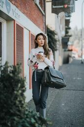 not jess fashion,blogger,sweater,jeans,shoes,belt,fall outfits