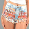 Aztec princess shorts | vanity row