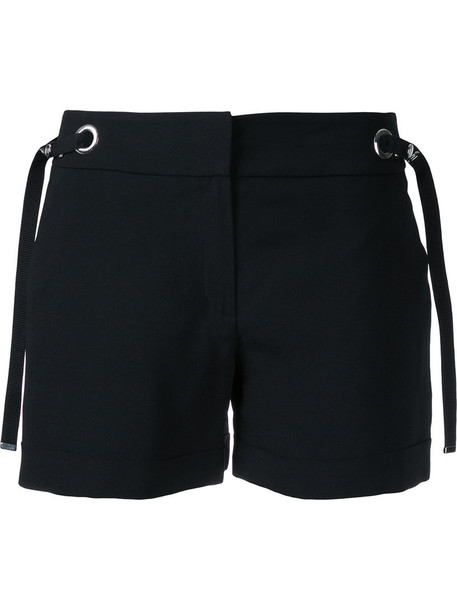 shorts women black