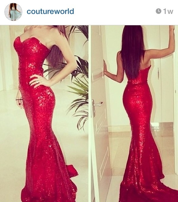 dress red dress prom dress prom gown elegant