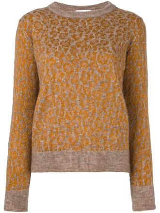 jumper women spandex nude wool pattern sweater