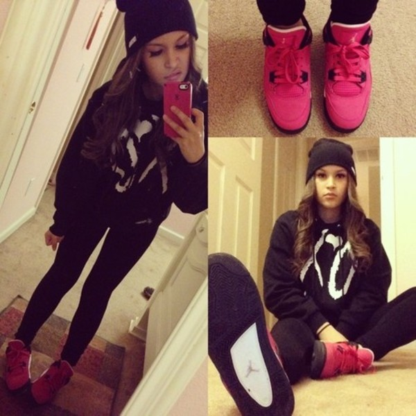 shoes jordans sneakers lowtops airjordan sweater oversized