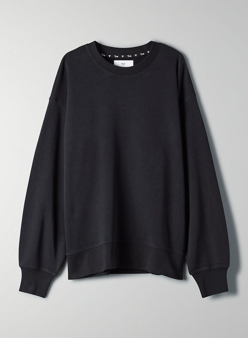 Tna The Oversized Crew Light Sweater