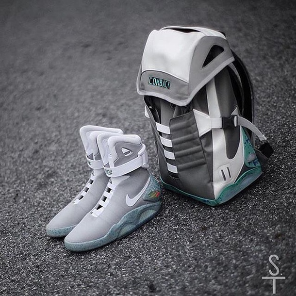 shoes, nike shoes, back to the future